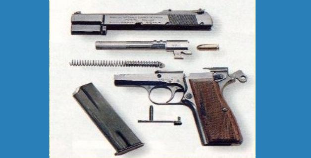 Despiece basico de arma