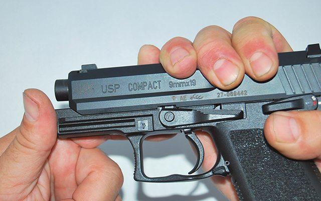 Paso 2 Despiece basico HK USP