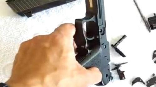 Paso 3 Desmontaje Conjunto Disparador HK USP