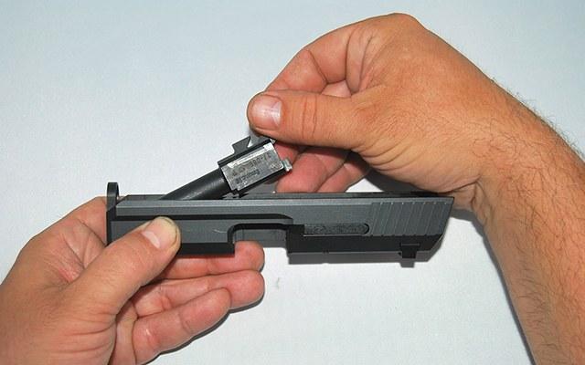 Paso 4 Desarme HK USP