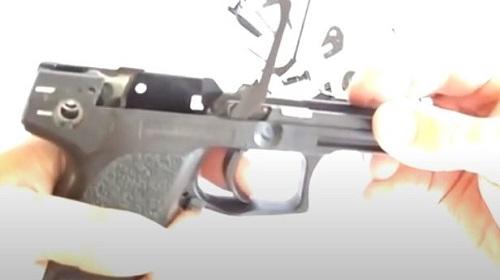 Paso 5 Desarme Conjunto Disparador HK USP Compac